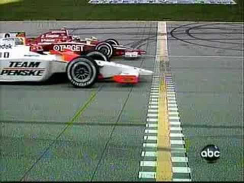 2008 Indy Car Championship Chicagoland Photo Finish!!!!