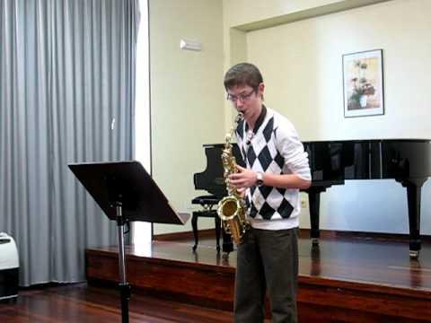 Aula Galega de Saxofón – Estudio Nº 14 de W. Ferling