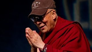 His Holiness the Dalai Lama delivers Ogden Lecture at Brown University