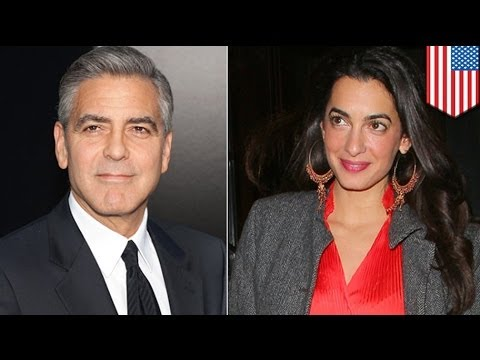 George Clooney engaged to British lawyer girlfriend Amal Alamuddin