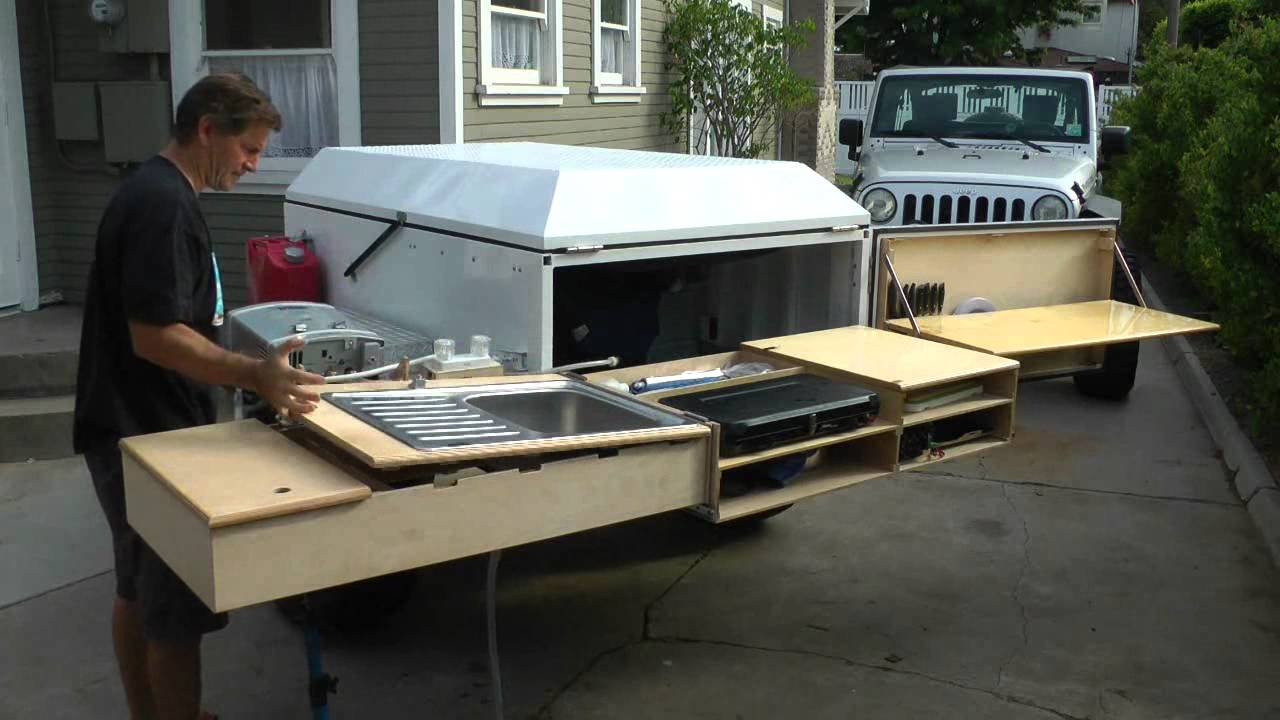 Dominion Offroad Trailer Kitchen Youtube