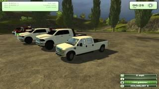 Farming Simulator 2013 American Trucks Dodge 3500 And