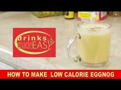 How to make low calorie non alcoholic eggnog drinks made for How to make non alcoholic drinks