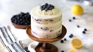 How to Make Blueberry Lemon Cake