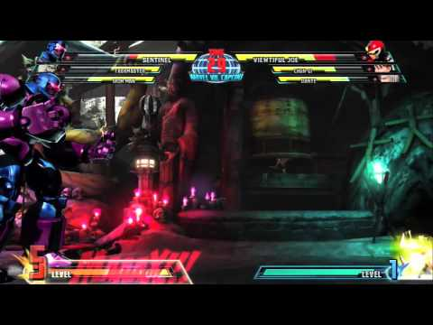 Marvel vs Capcom 3 character intro: SENTINEL