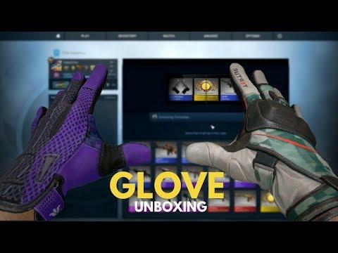 SPORT GLOVES UNBOXING! (CS:GO Case Reactions)