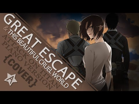 Great Escape & This Beautiful Cruel World Cover, piano cover of both ending songs