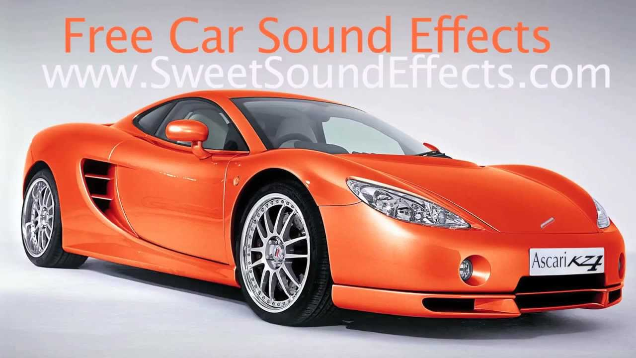 Sound Effects Car Driving Fast