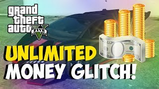 """GTA 5 Glitches NEW """"Unlimited Money Glitch"""" After Patch"""