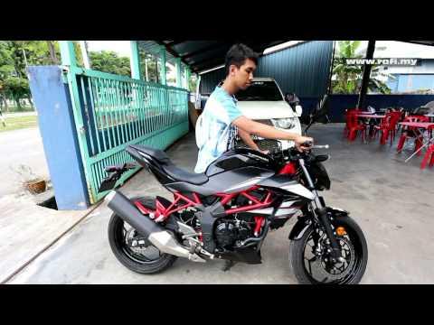 Kawasaki Z250 SL Exhaust Sound