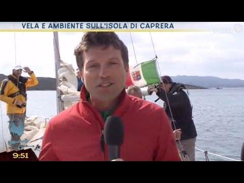 Vela e ambiente sull'isola di Caprera