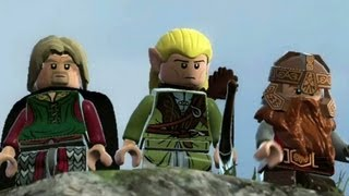 LEGO Lord of the Rings : Recreating Middle-Earth