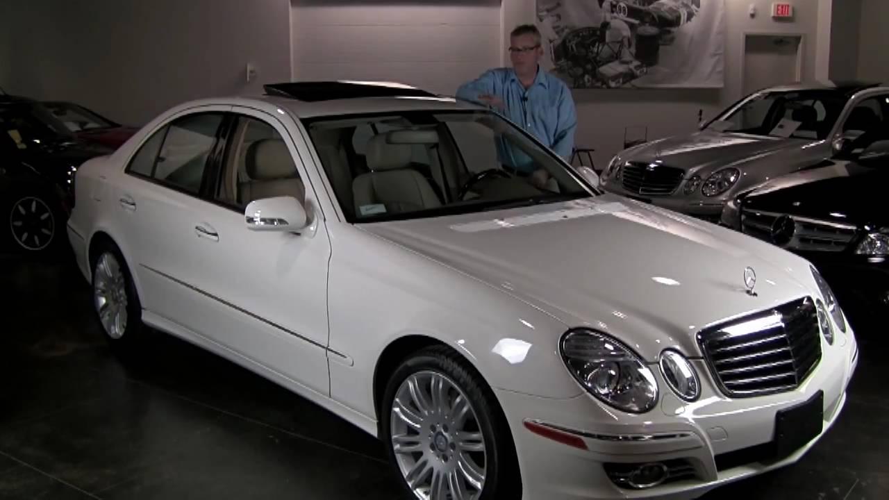 2008 mercedes benz e350 4matic sport package navigation for Mercedes benz 2008 e350