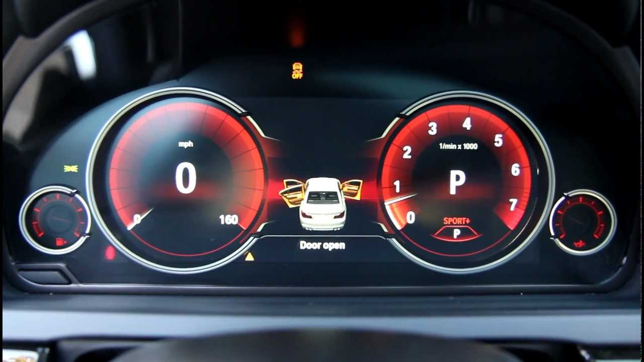 New Bmw Digital Lcd Instrument Gauges Display From 7
