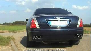 Maserati Quattroporte Power Tuning -- GH Motorsport videos