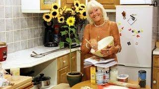 66yr Old Grandma Poses Naked Fullfing Life Long Dream