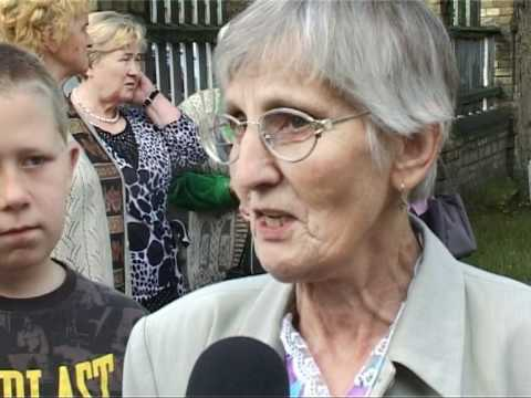 Смотреть видео Вентспилсчане начали паломничество в Аглону