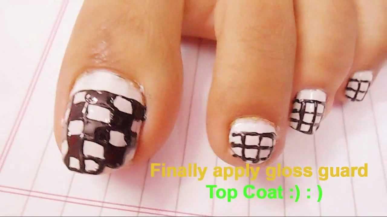 Nail Art Ideas For Feet - NailArts Ideas