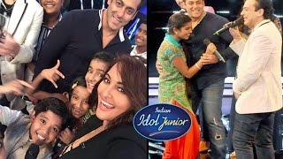 Salman Khan & Sonakshi Sinha On Indian Idol Junior