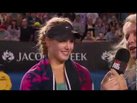 Eugenie Bouchard - 4rd Interview