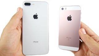 iPhone 8 Plus vs iPhone SE Speed Test!