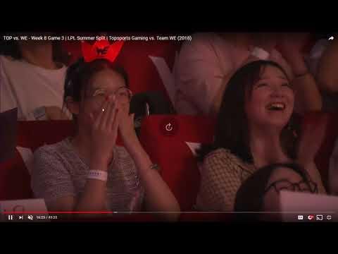 VOD Review - TOP vs WE - LPL 2018