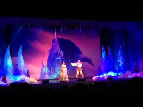 Let it Go Frozen Summer Fun Sing-a-Long Walt Disney World Hollywood Studios アナと雪の女王