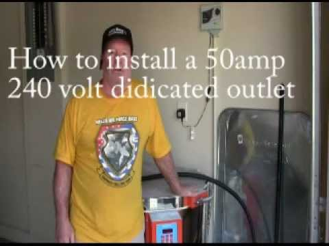 220 3 wire wiring diagram installing a 50 amp 240 volt outlet 28 youtube  installing a 50 amp 240 volt outlet 28 youtube