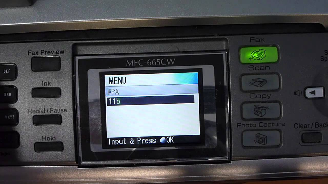 how to connect brother printer to wireless network
