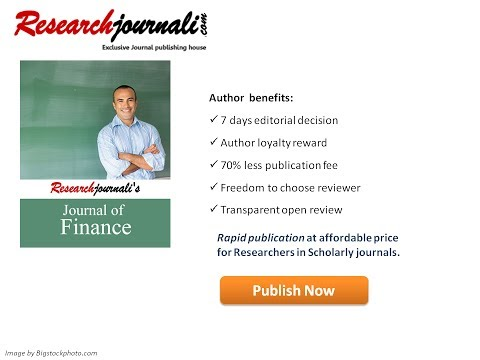 Researchjournali's Journal Of Finance