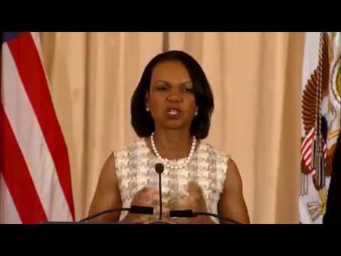 Secretary Kerry Delivers Remarks at Portrait Unveiling for Former Secretary Condoleezza Rice