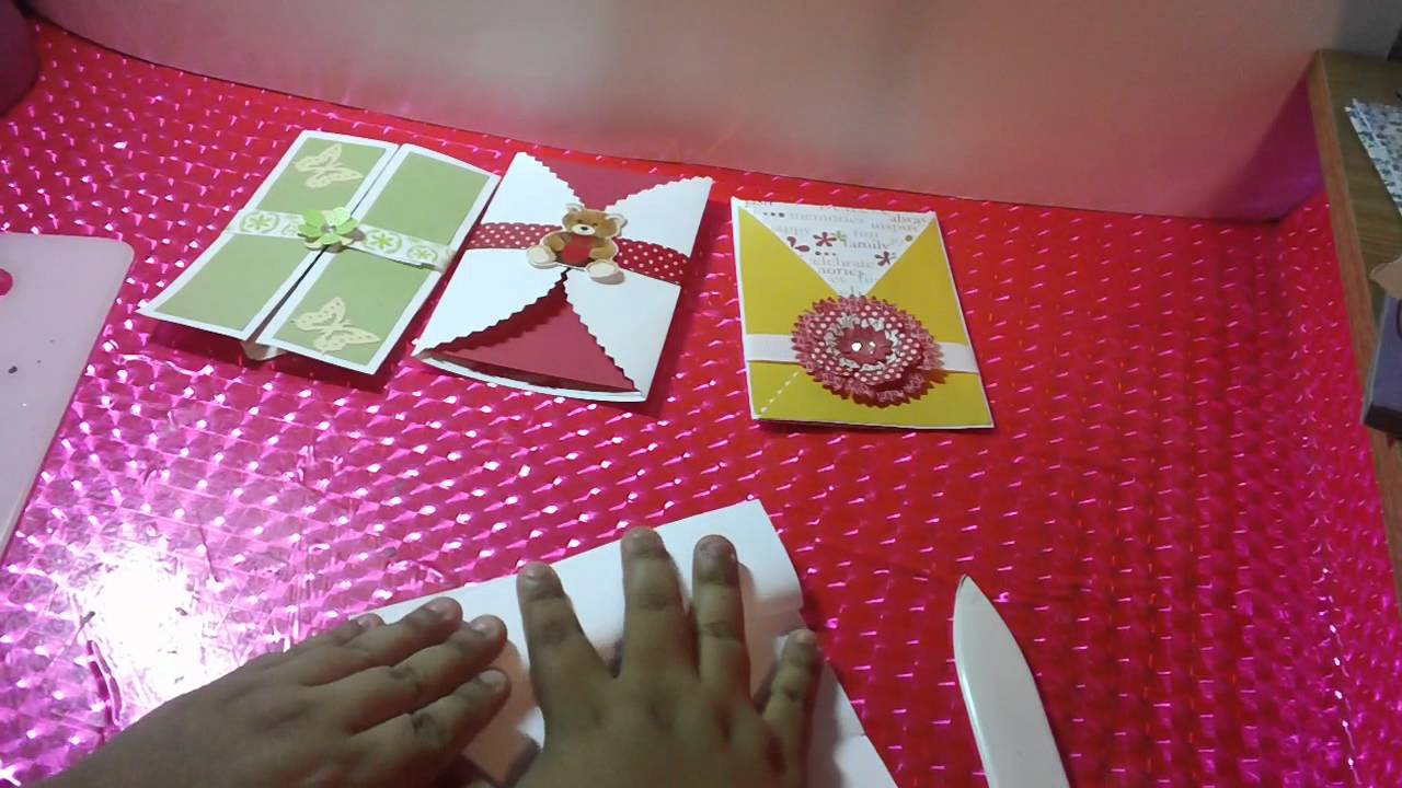 3 TARJETAS SOBRE POP OPEN SCRAPBOOK FACIL Y ORIGINAL YouTube