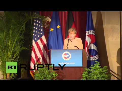 USA: Merkel accuses Russia of shattering post-war order