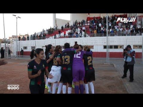فريق الجيش الملكي لكرة القدم النسوية يتوج بلقب كأس العرش