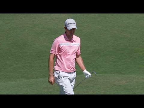 Justin Rose nearly holes pitch shot at Zurich