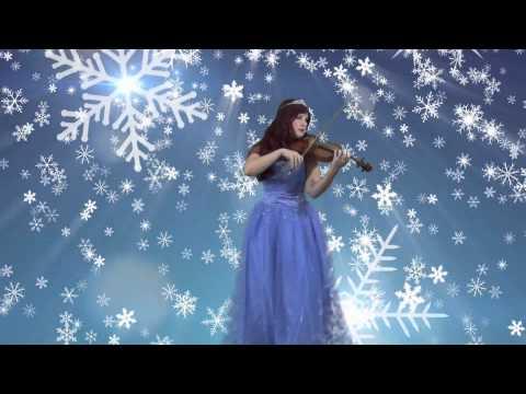 Let It Go Violin Cover (Disney's FROZEN) | Alison Sparrow