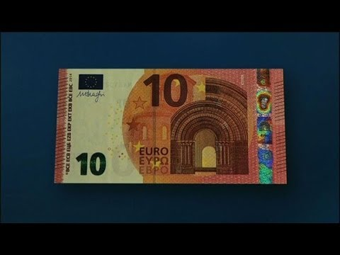 ECB reveals new 10-euro notes featuring mythical god Europa