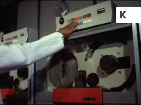 1970s South Africa, Laboratory, Scientists Analyse Rocks, Technology, 35mm Archive Footage
