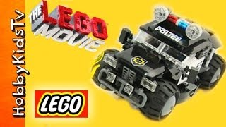 ★NEW 2014★ The LEGO MOVIE Police Car Lego Kit (70808