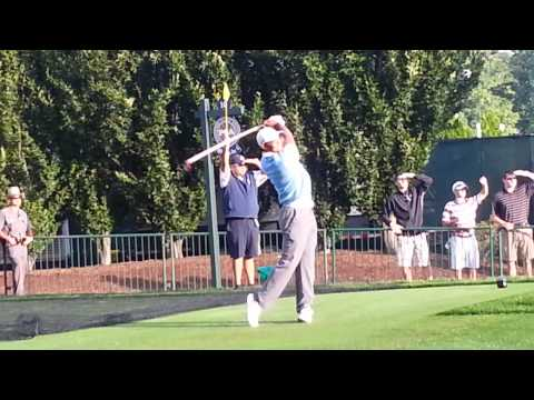 Tiger Woods 2013 PGA Championship Oak Hill Swingvision Slow Motion 60fps
