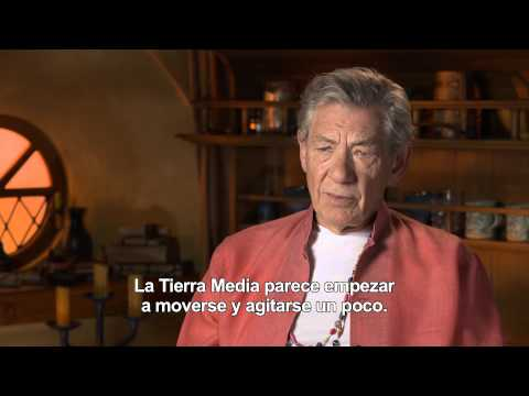 El Hobbit: La Desolación de Smaug - Entrevista Ian Mckellen (Gandalf)