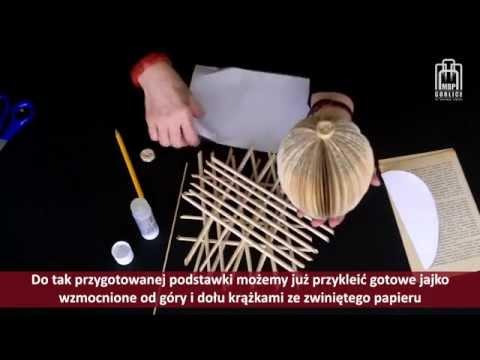 Papierowe inspiracje - cz. 5 - ozdoby wielkanocne
