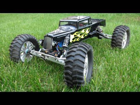 rc adventures dark funeral 1 8th scale axial rat rod. Black Bedroom Furniture Sets. Home Design Ideas