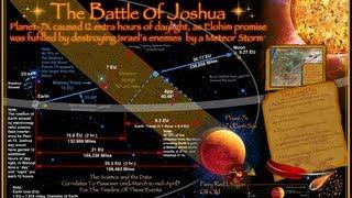 JOSHUA'S LONG DAY-PLANET-X (7X) CROSSING EARTH PATH