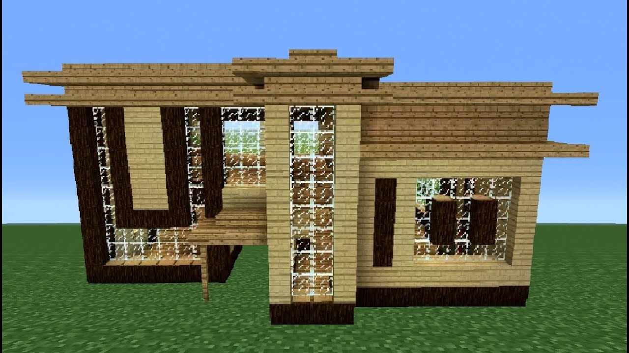 Minecraft 360 modern house tutorial house number 2 for Modern house 360