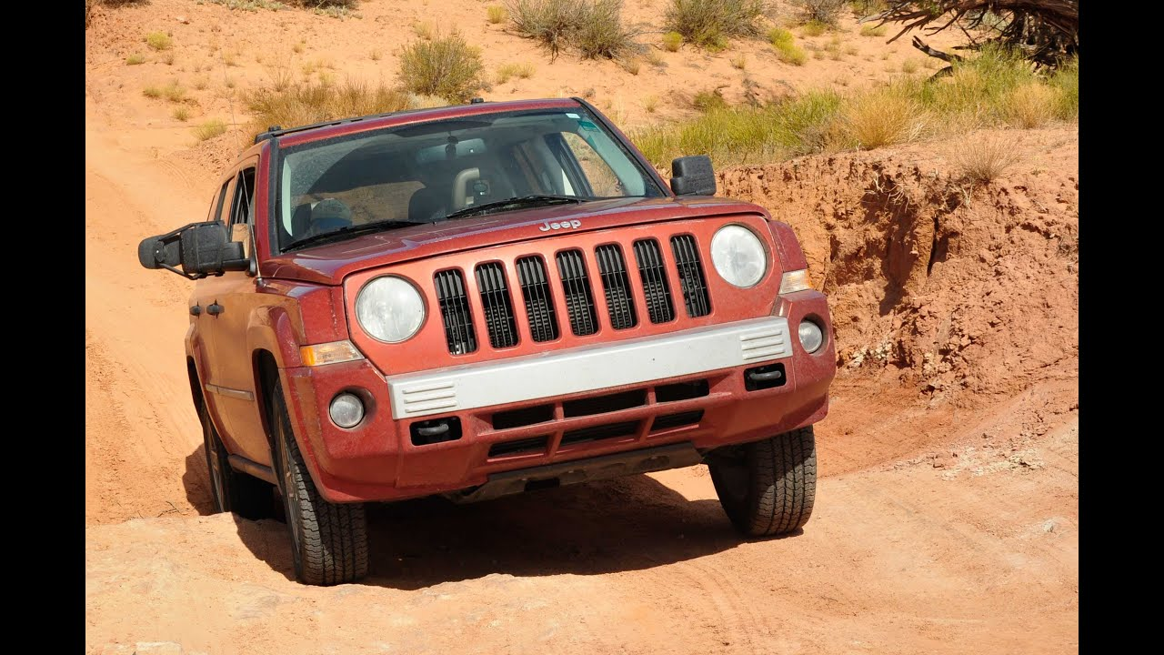jeep patriot 4x4 trail rated off road youtube. Black Bedroom Furniture Sets. Home Design Ideas