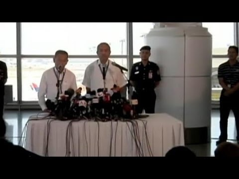 Officials Update the Investigation of Missing Malaysia Airlines Plane