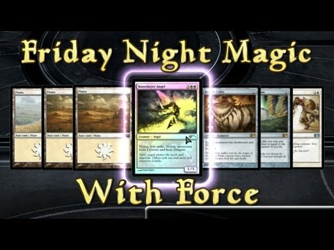 FNM with Force - I Have No Life (MTG Duels 2013 Multiplayer)