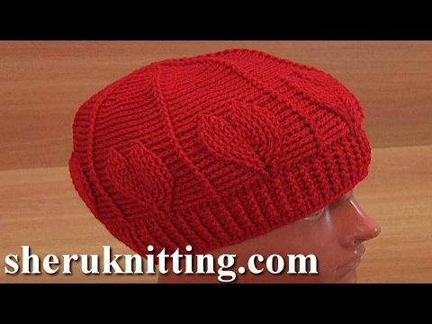 Crochet Red Heart Hat Tutorial 180