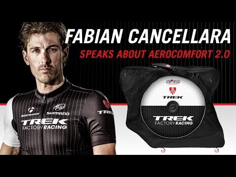 Fabian Cancellara talks about Scicon Aerocomfort 2.0 Bike Bag